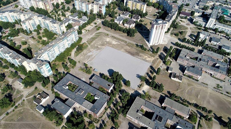 У маленьких каменчан появится стадион с баскетбольной площадкой, футбольным полем и  зоной воркаута, фото-7