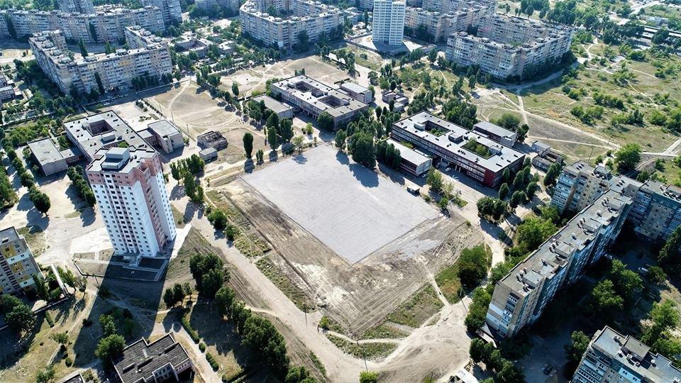 У маленьких каменчан появится стадион с баскетбольной площадкой, футбольным полем и  зоной воркаута, фото-8