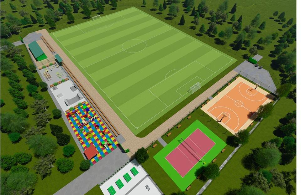 У маленьких каменчан появится стадион с баскетбольной площадкой, футбольным полем и  зоной воркаута, фото-3