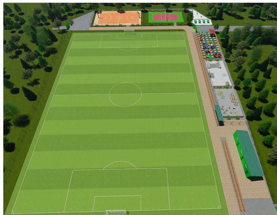У маленьких каменчан появится стадион с баскетбольной площадкой, футбольным полем и  зоной воркаута, фото-5