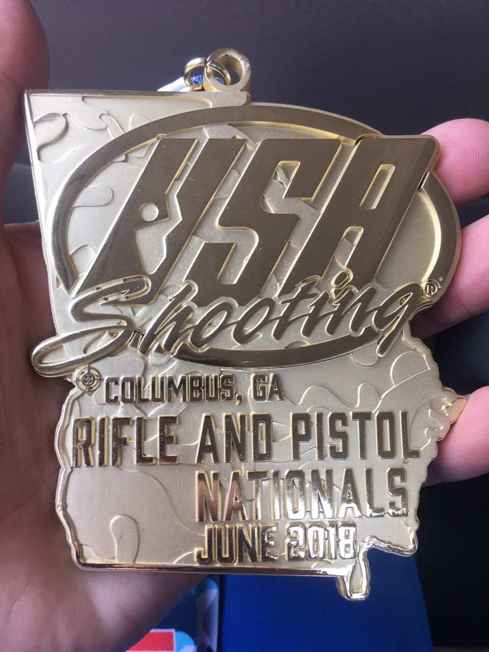 Каменчанин Виталий Плакущий победил на чемпионате США по пулевой стрельбе, фото-1