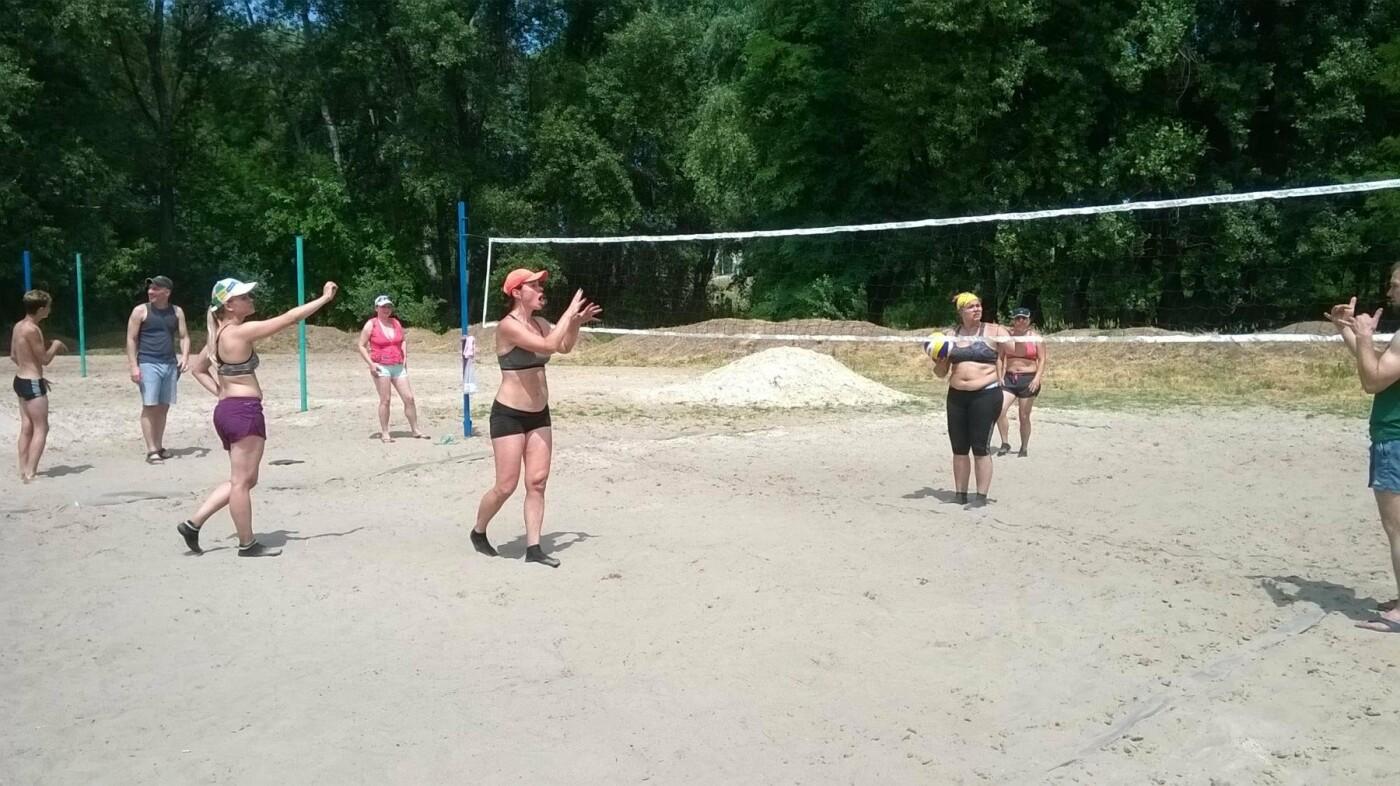 В Каменском состоялся чемпионат по пляжному волейболу, фото-1