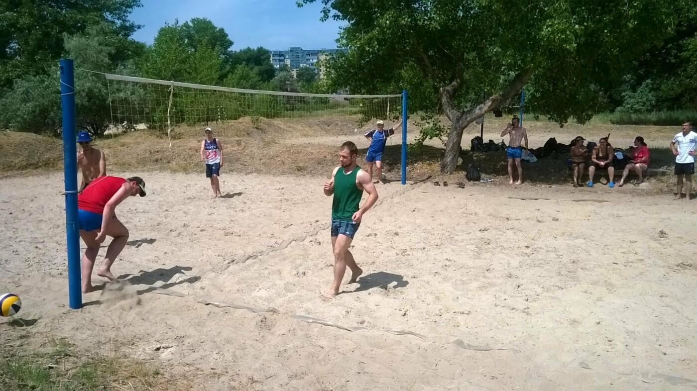 В Каменском состоялся чемпионат по пляжному волейболу, фото-3
