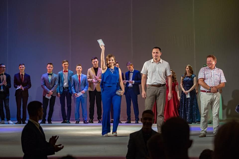 Каменские выпускники прощались со школой, фото-9