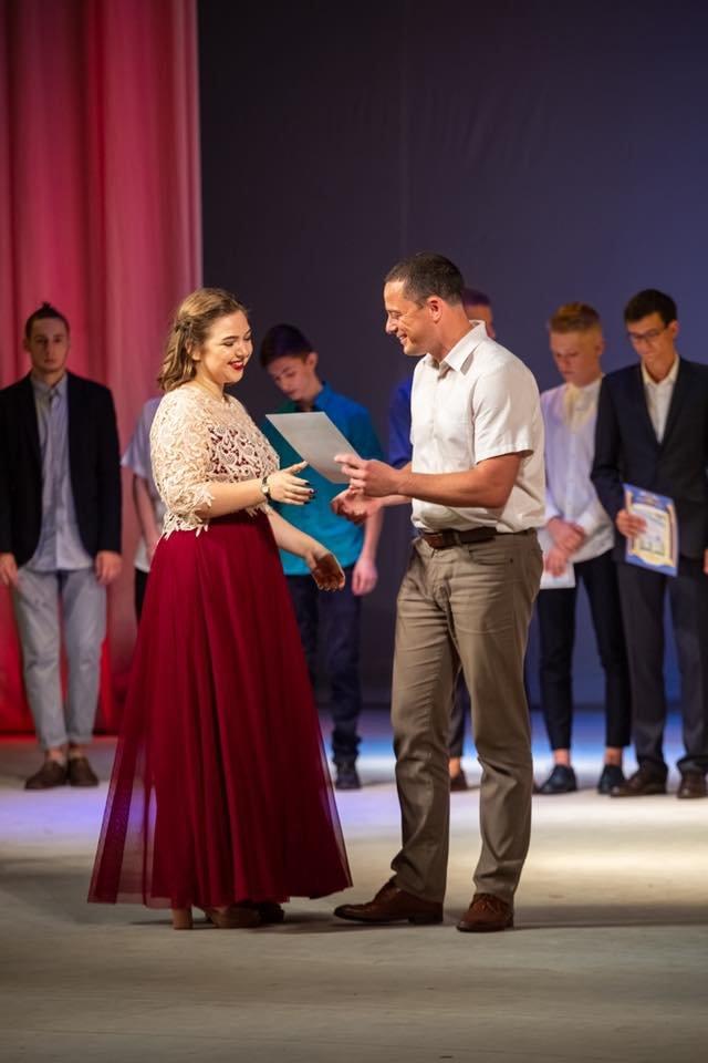 Каменские выпускники прощались со школой, фото-11