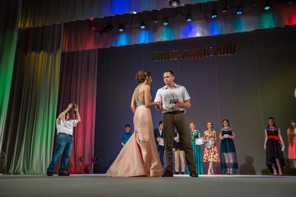Каменские выпускники прощались со школой, фото-10