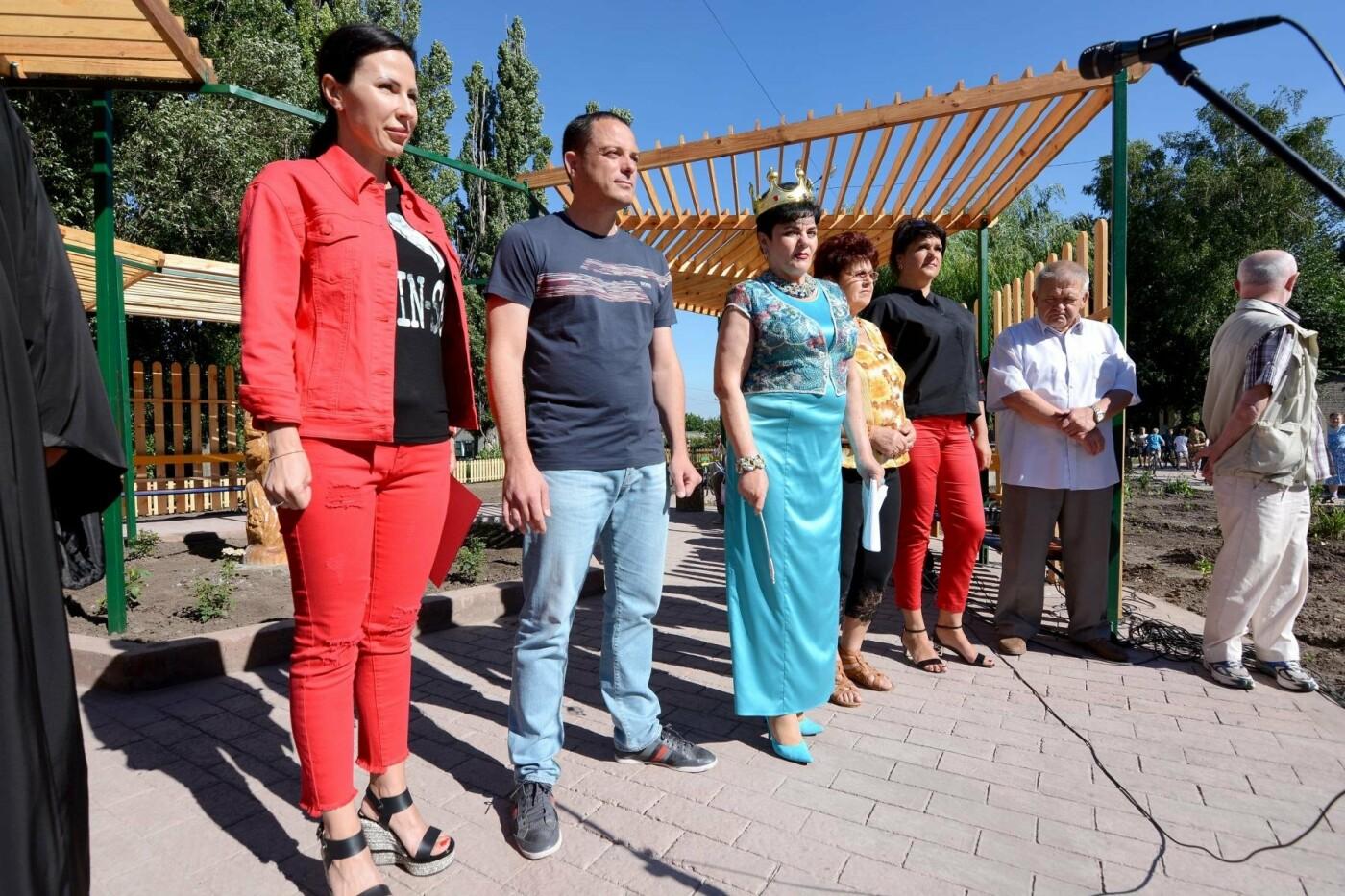 В Каменском на БАМе открылся «Сказочный городок», фото-3