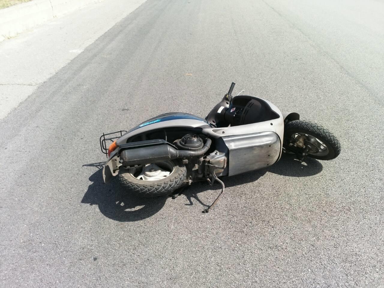 Не разминулись: в Каменском водитель Mercedes «зацепил» мопедиста , фото-8