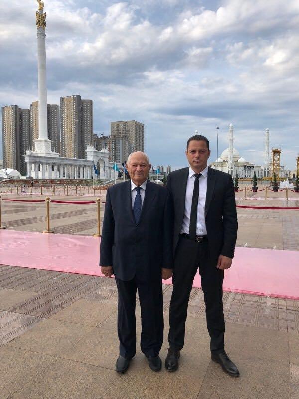 Мэр Каменского прибыл в Казахстан на юбилей столицы, фото-1