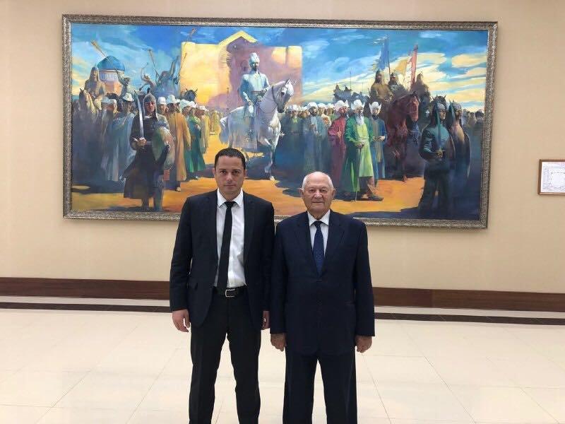 Мэр Каменского прибыл в Казахстан на юбилей столицы, фото-2