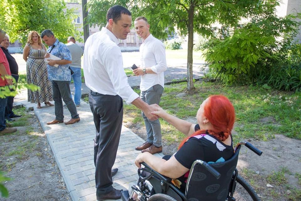 В Каменском помогают людям с ограниченными возможностями: ветеран МВД теперь сможет выходить на улицу, фото-6