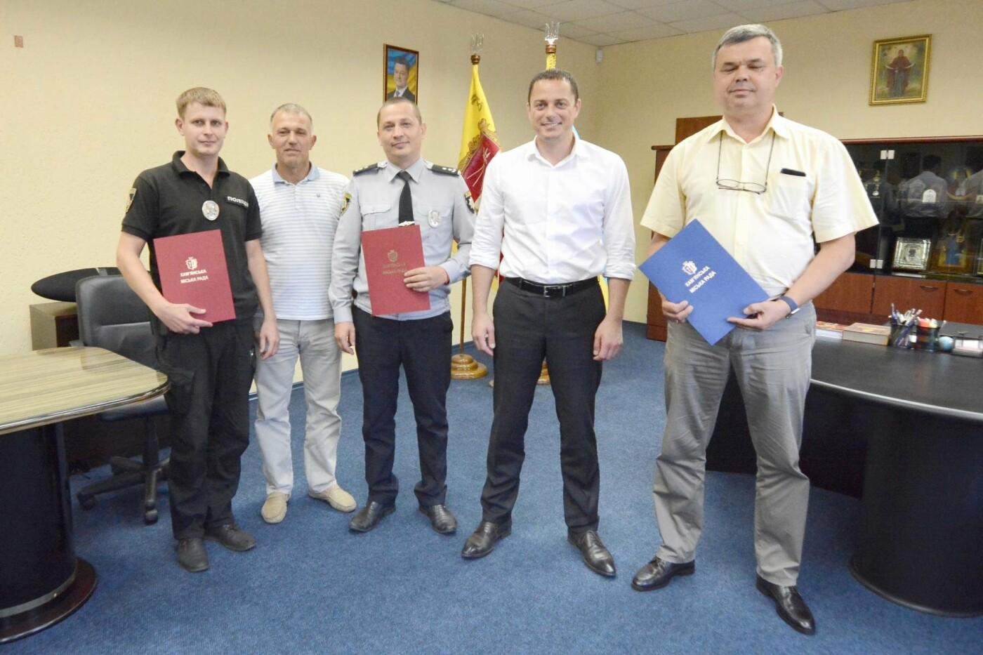 Выдающиеся каменчане получили грамоты и благодарственные письма из рук мэра, фото-2