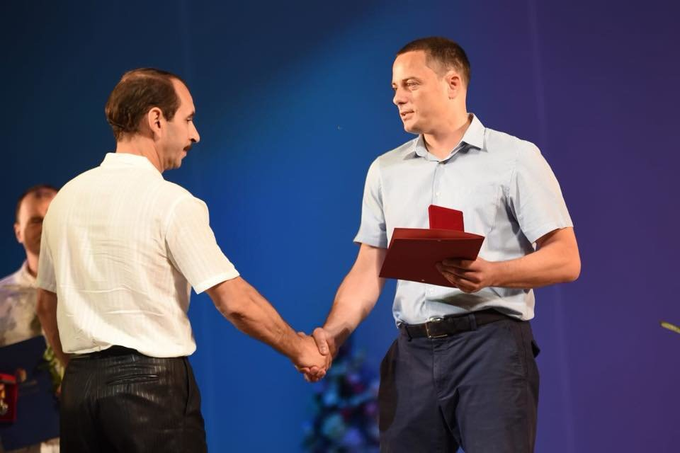 В театре Каменского награждали металлургов, фото-3
