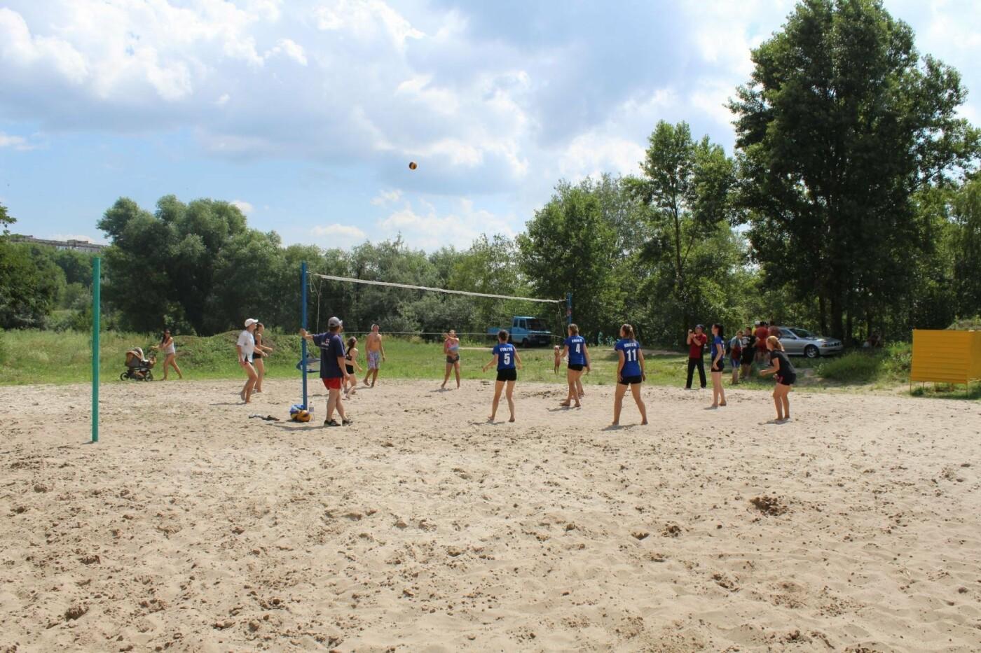 Как волейболисты Каменского праздновали День металлурга, фото-4