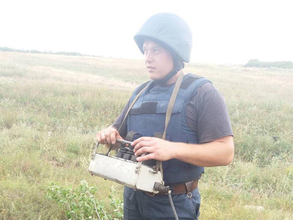 На Днепропетровщине уничтожили авиационную бомбу ФАБ-100, фото-3