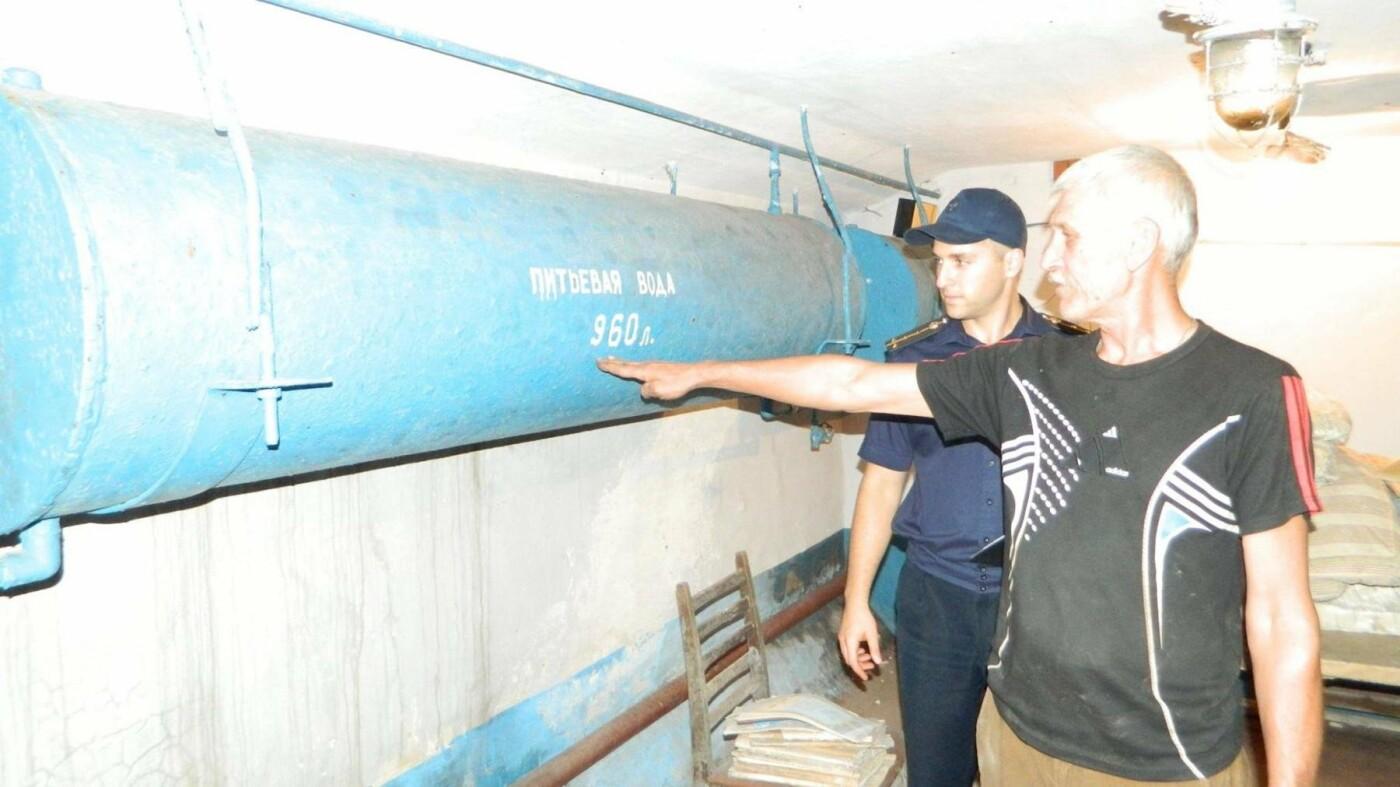 На случай чрезвычайного положения: в Каменском проверили готовность защитных сооружений, фото-1