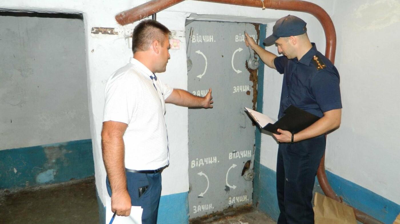 На случай чрезвычайного положения: в Каменском проверили готовность защитных сооружений, фото-4