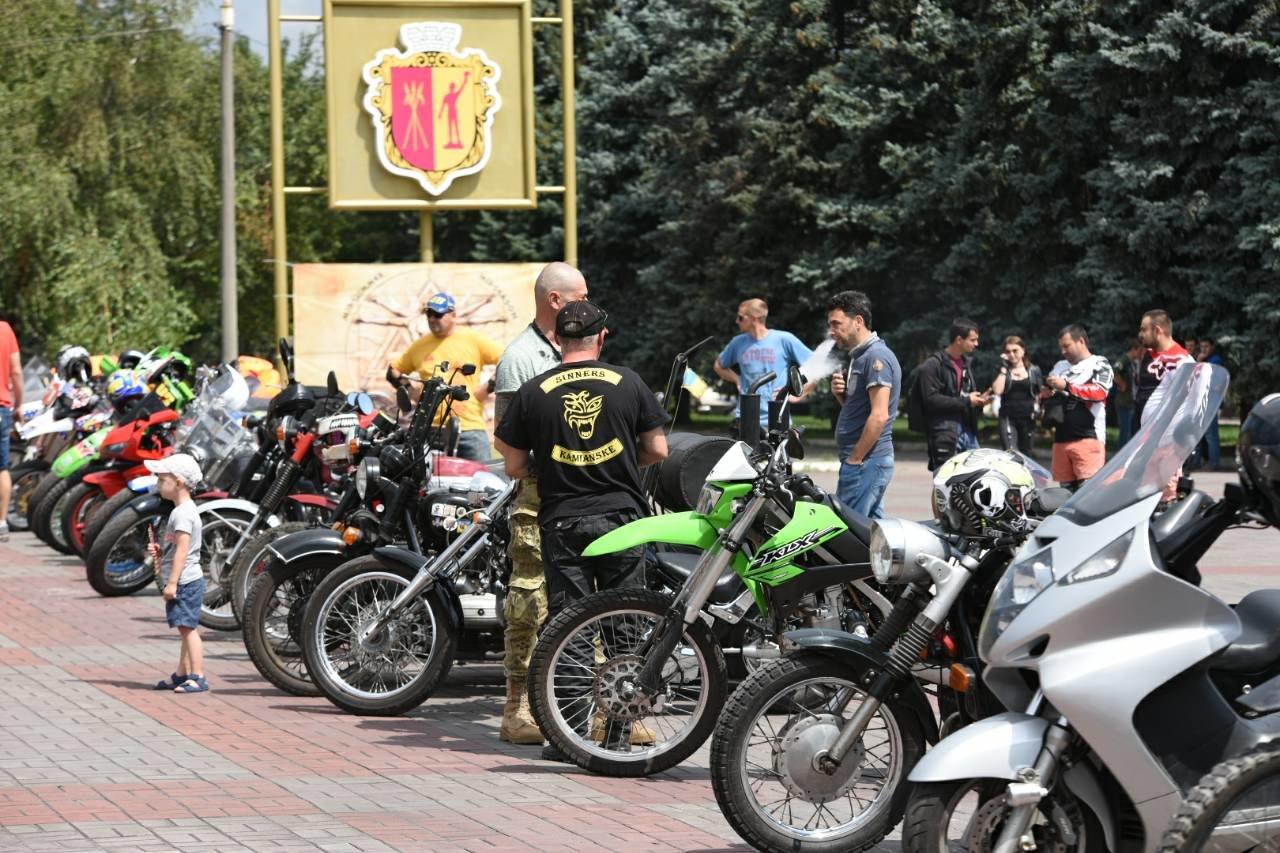 В Каменское съехались байкеры со всей Украины, фото-6