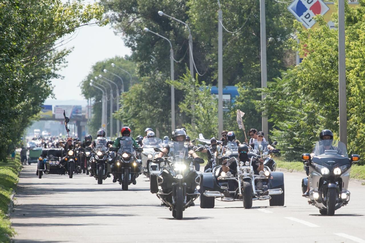 В Каменское съехались байкеры со всей Украины, фото-5