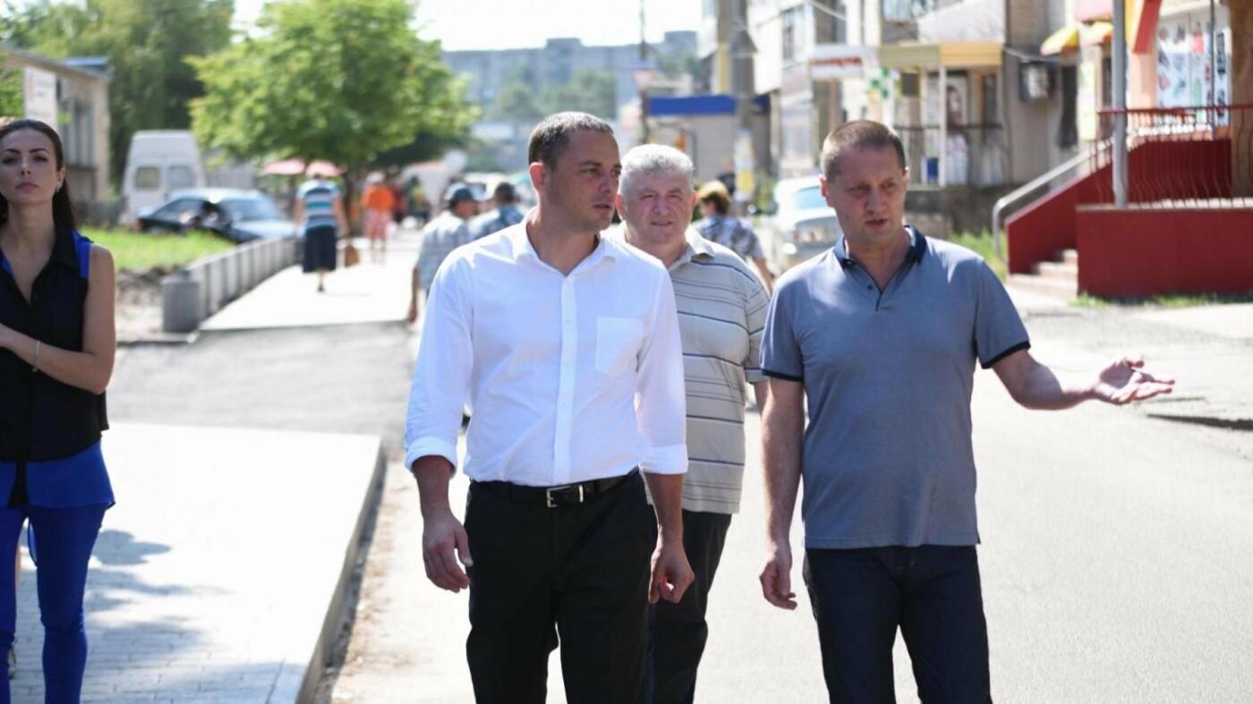 В Каменском восстанавливают тротуары, фото-2