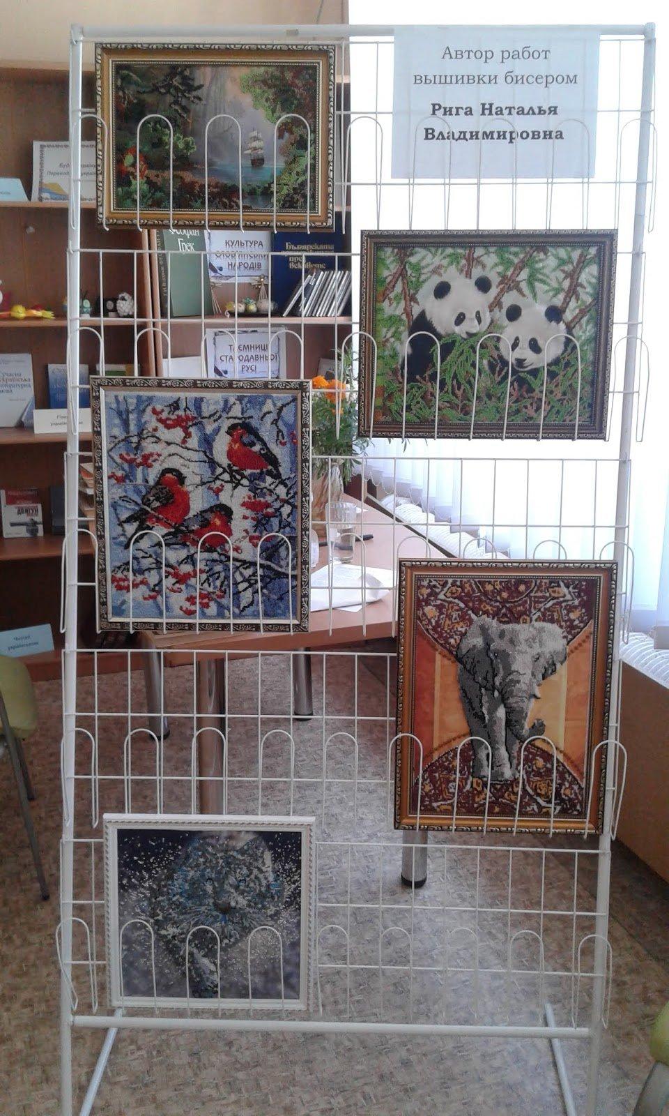 Медики Каменского представили произведения искусства из бисера и вышивки, фото-4