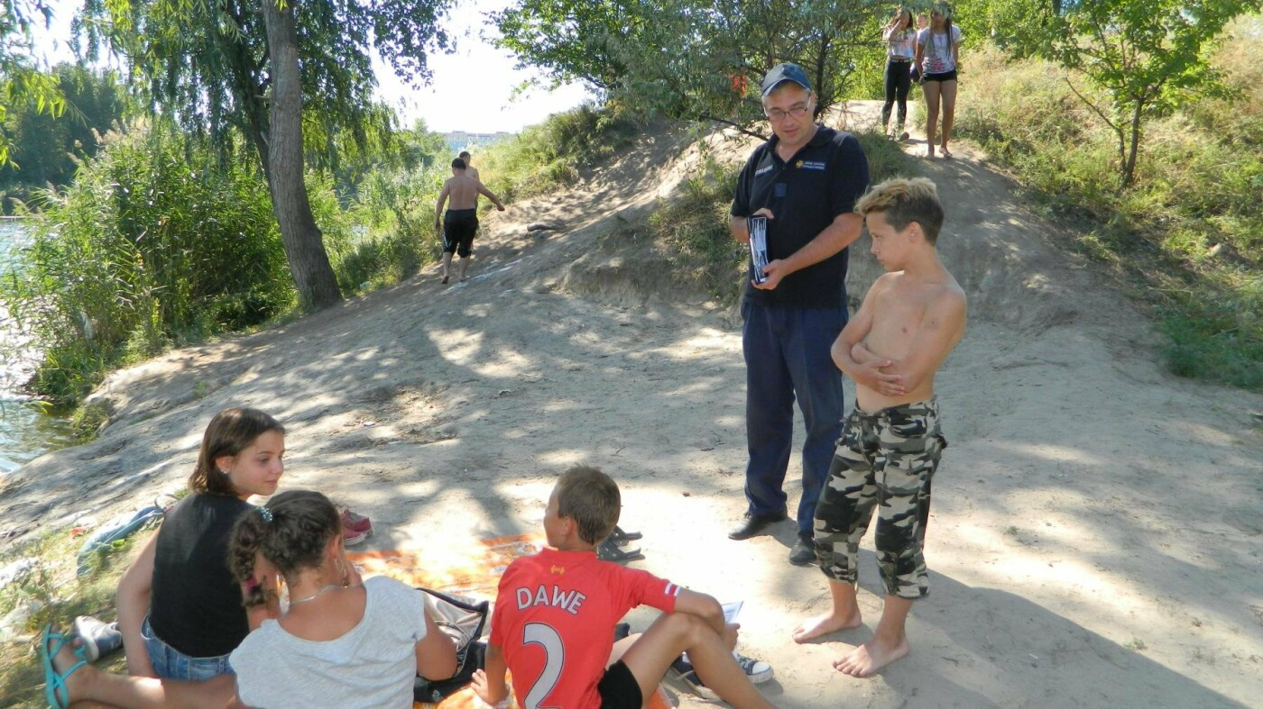 Спасатели Каменского рассказали «пляжникам» о безопасном отдыхе, фото-4