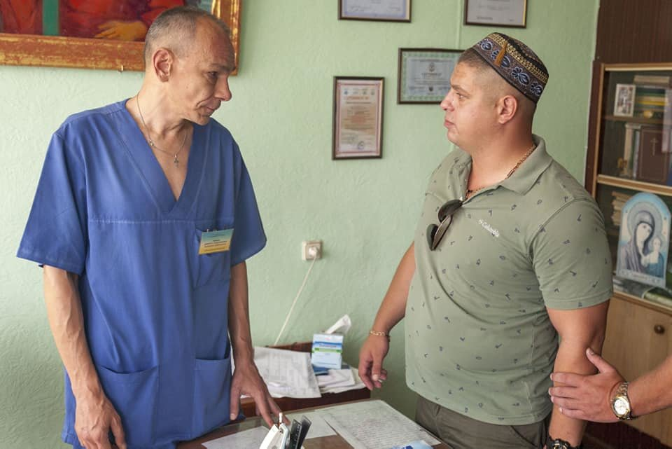 Каменской активист Евгений Найда: «Я получил удар в голову кулаком от заведующего и ответил ему двумя, может тремя ударами», фото-3