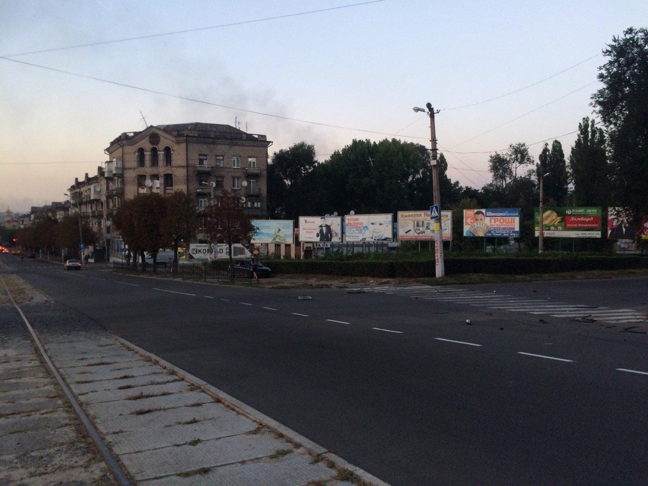 «Неадекватность» на еврономерах: в Каменском возле «Дружбы» произошло ДТП, фото-3