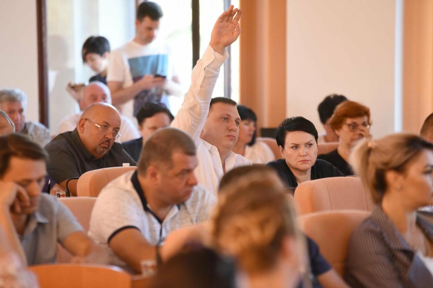 Какие вопросы решали депутаты Каменского на сессии горсовета, фото-1