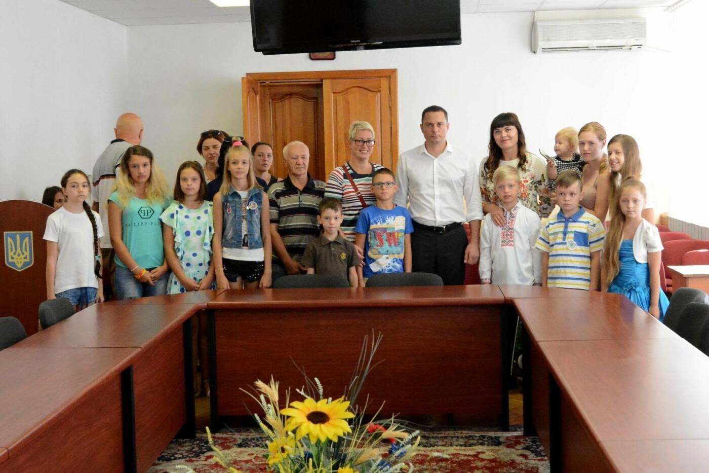Детям погибших в АТО каменчан вручили подарки, фото-2