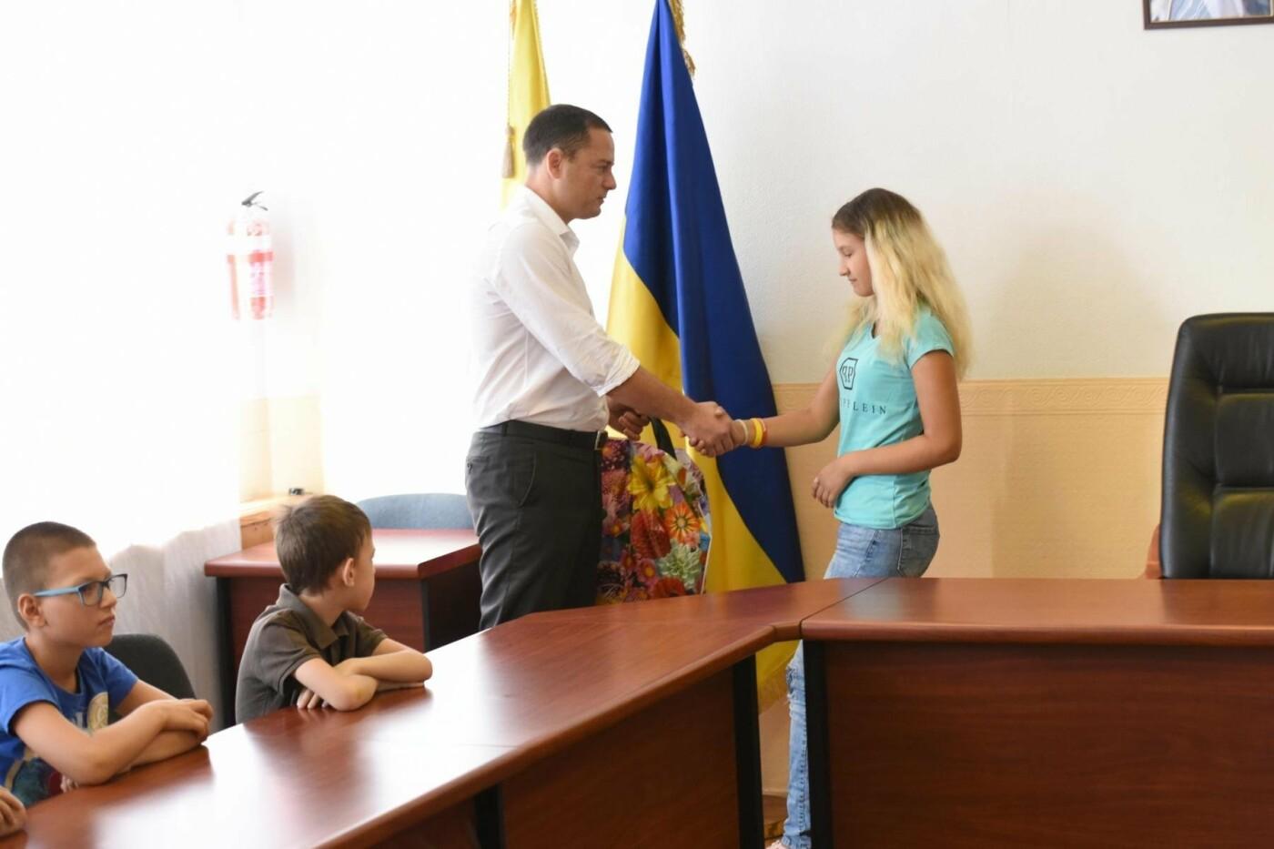 Детям погибших в АТО каменчан вручили подарки, фото-1