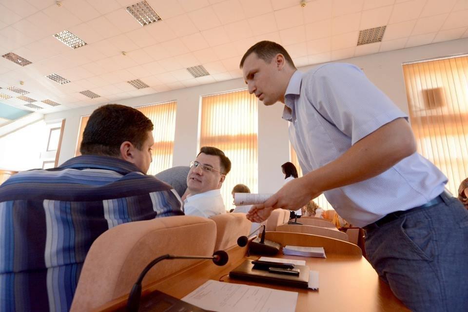 Какие вопросы решали депутаты Каменского на сессии горсовета, фото-13