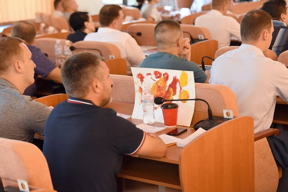 Какие вопросы решали депутаты Каменского на сессии горсовета, фото-11
