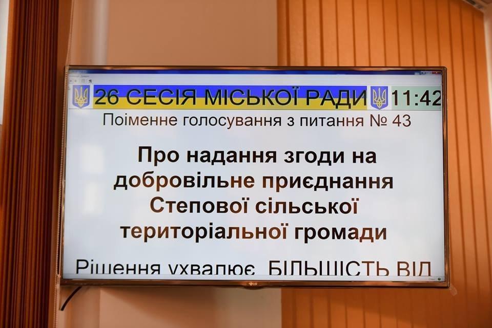Какие вопросы решали депутаты Каменского на сессии горсовета, фото-20