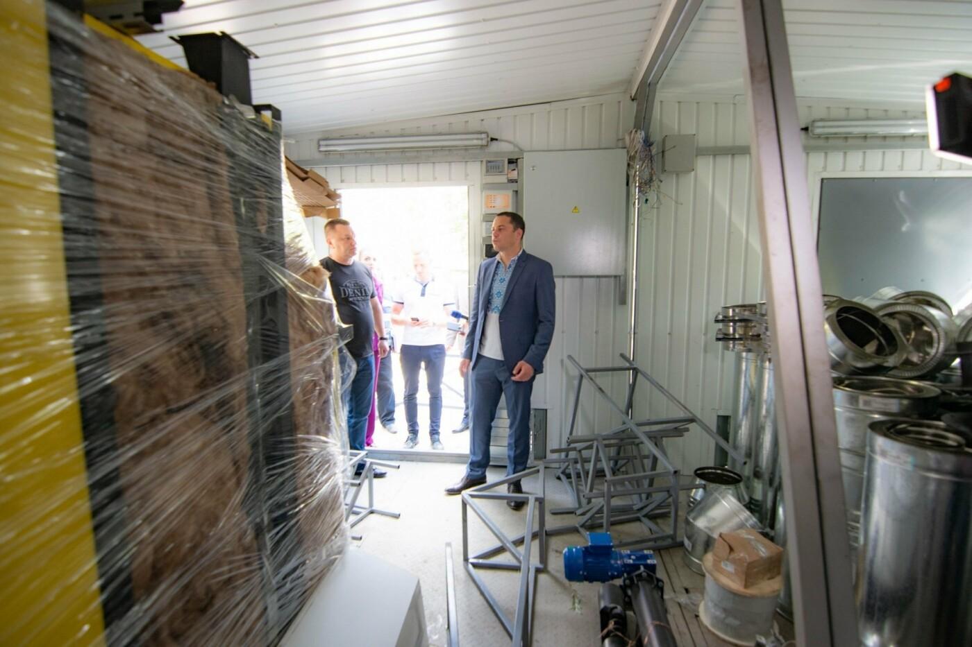Готовимся к зиме: мэр Каменского проконтролировал работы по установке котельных и замену электросетей, фото-2