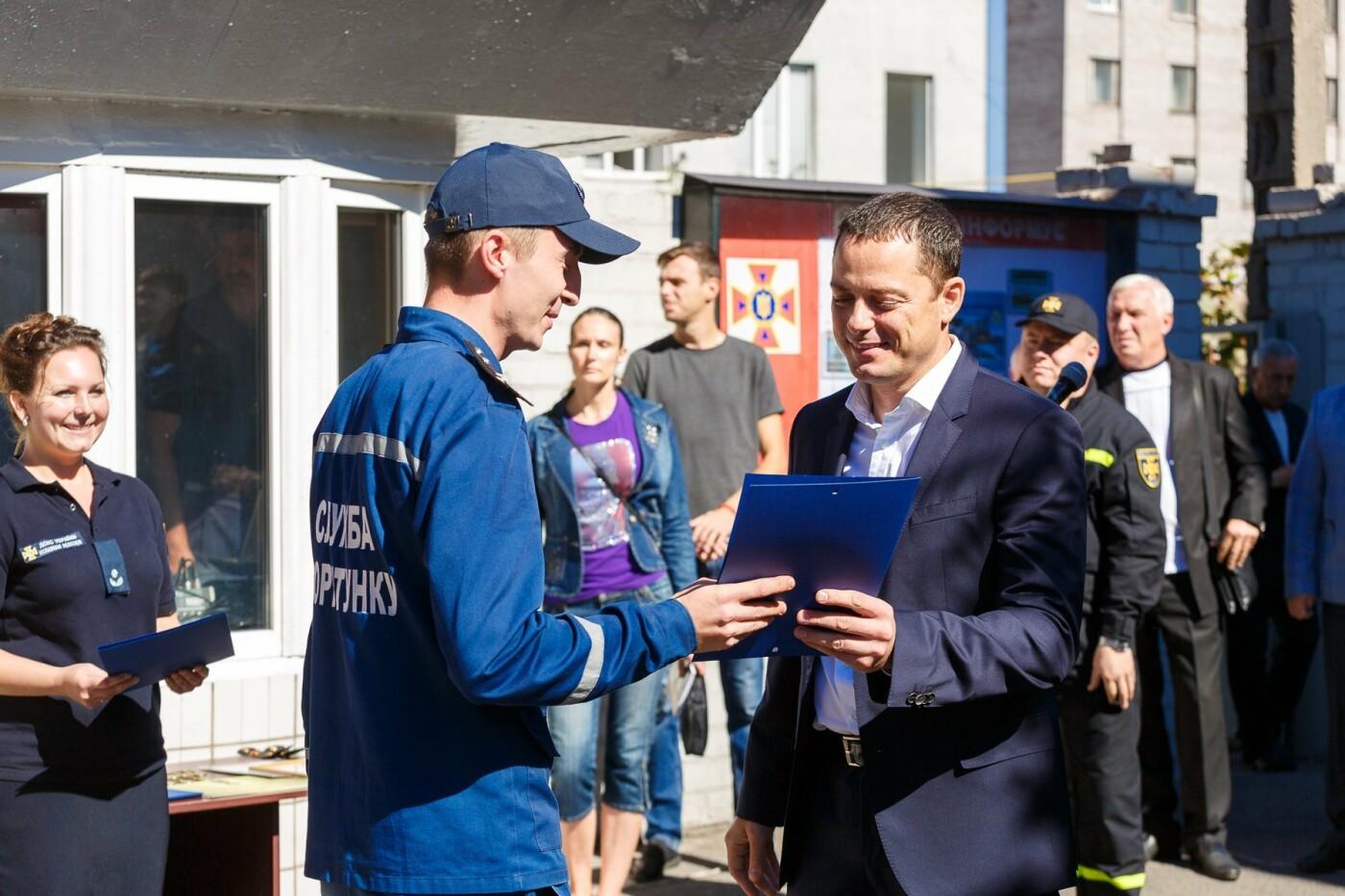 В Каменском наградили спасателей, фото-3