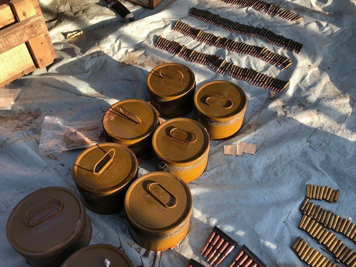 Оперативники СБУ провели обыск на Днепропетровщине: патроны, мины и гранаты, фото-8