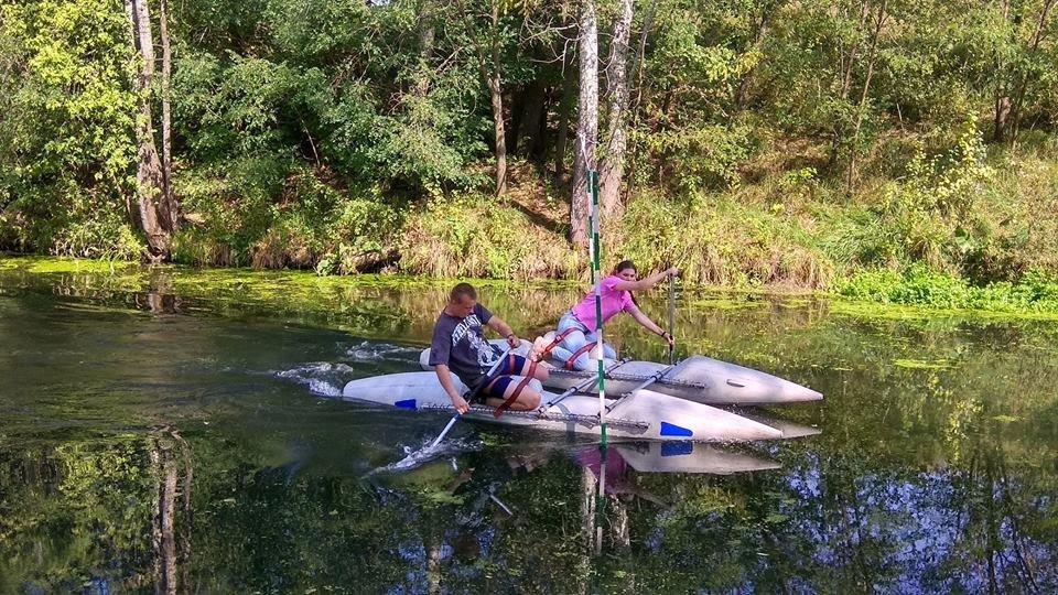 В Каменском прошел Кубок города по спортивно-водному туризму, фото-12