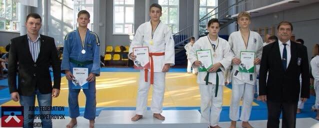 Каменчане - чемпионы и призеры Детской Лиги по дзюдо, фото-1