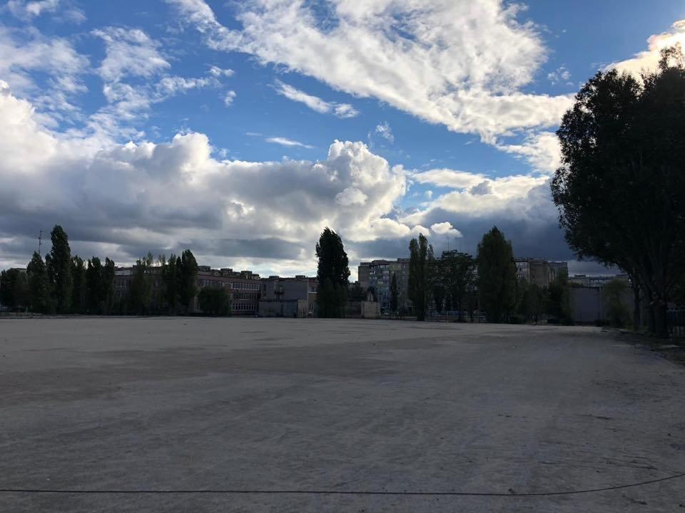 На левобережье Каменского продолжается строительство стадиона, фото-2