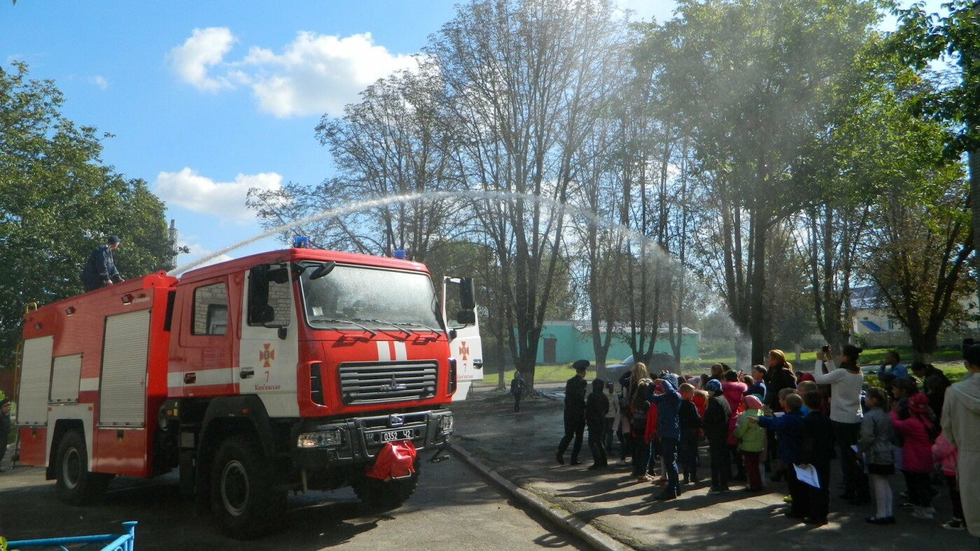 Школьники Каменского знакомились со спасателями, фото-7