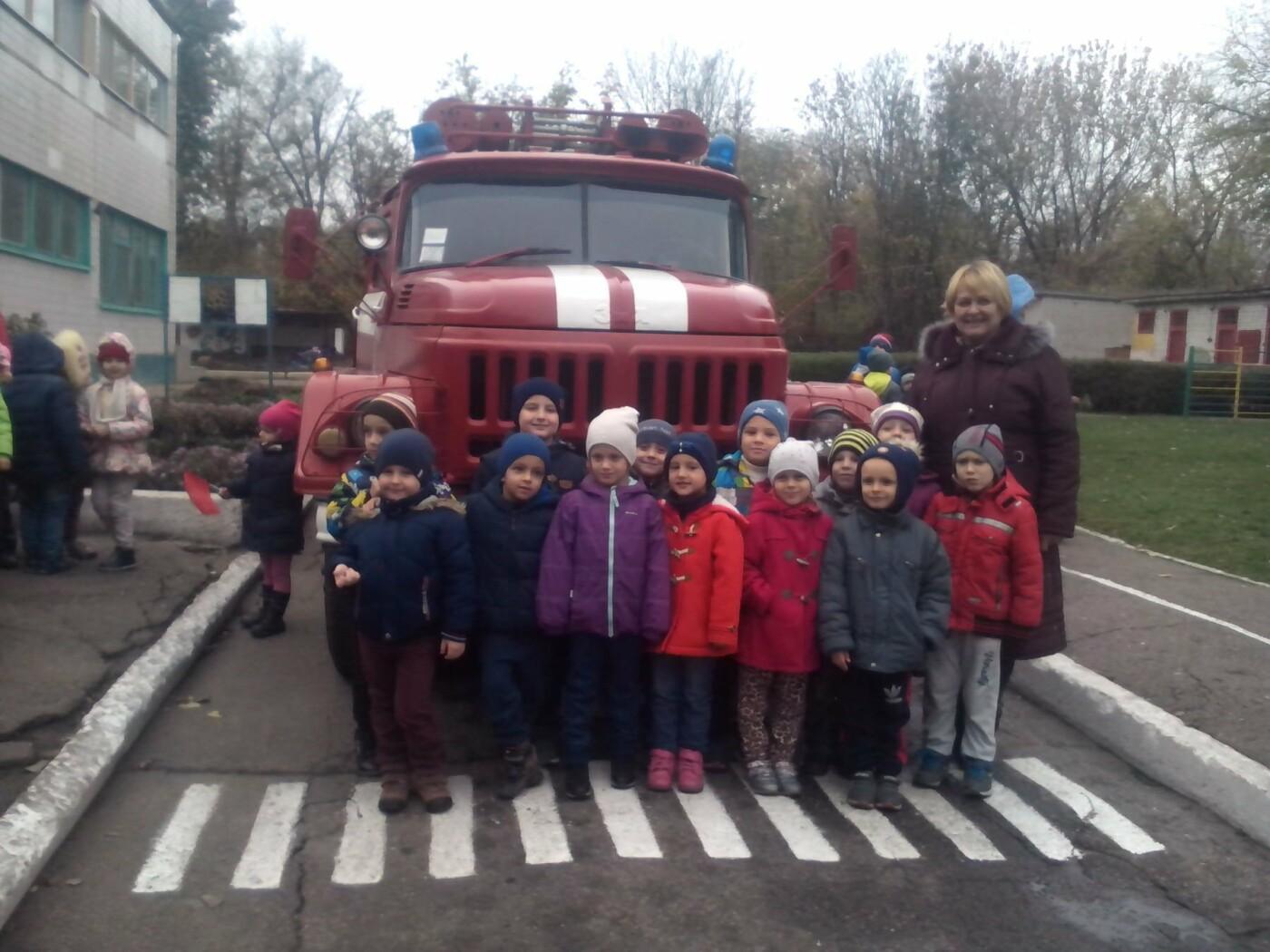 Каменские спасатели побывали в детсаде «Колокольчик», фото-6
