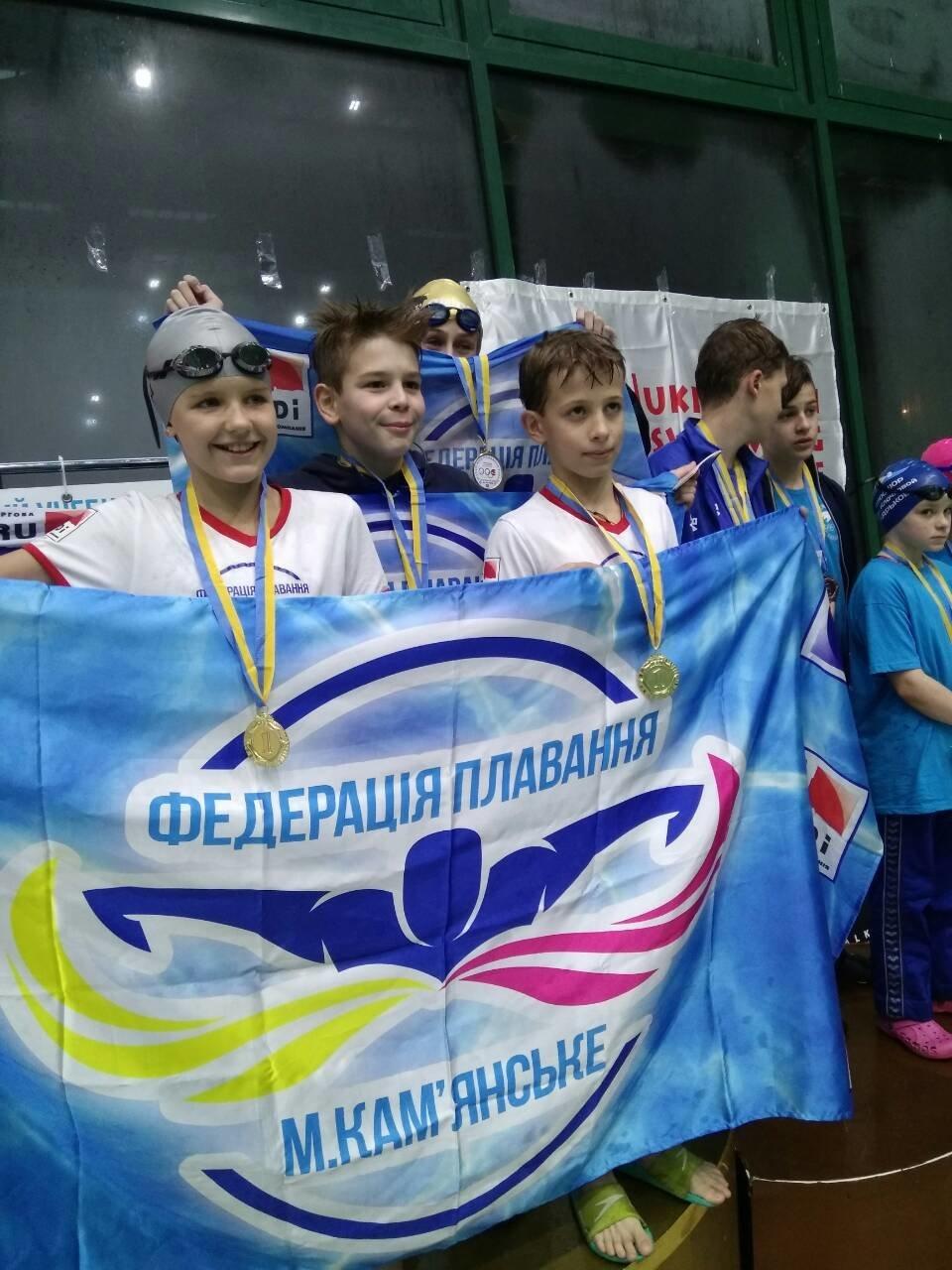Каменские спортсмены успешно выступили в Лиге плавания Украины, фото-2