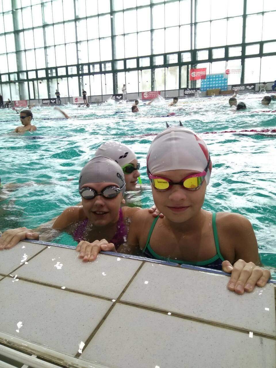Каменские спортсмены успешно выступили в Лиге плавания Украины, фото-1