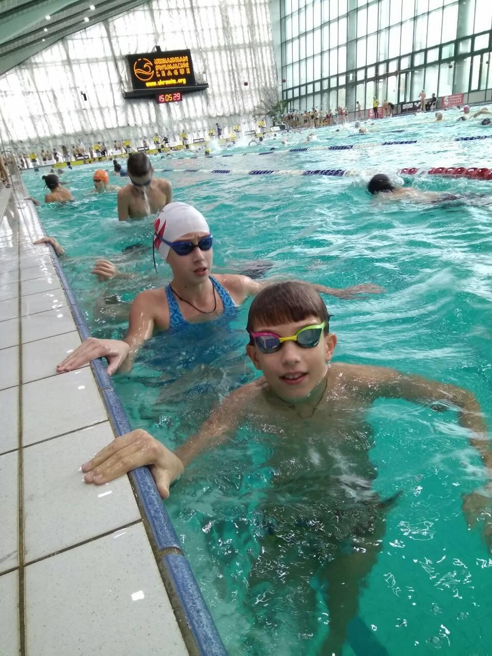 Каменские спортсмены успешно выступили в Лиге плавания Украины, фото-3
