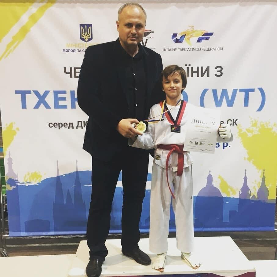 Каменчане завоевали «золото» Украины по тхеквондо, фото-1