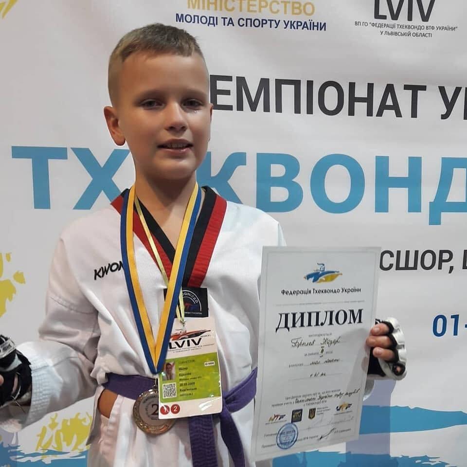 Каменчане завоевали «золото» Украины по тхеквондо, фото-8