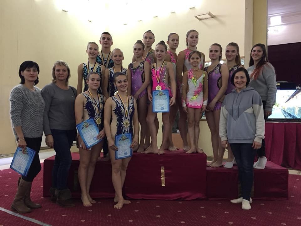 Каменские акробаты стали чемпионами и призерами чемпионата Украины, фото-1