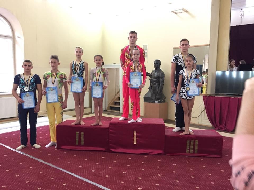 Каменские акробаты стали чемпионами и призерами чемпионата Украины, фото-4