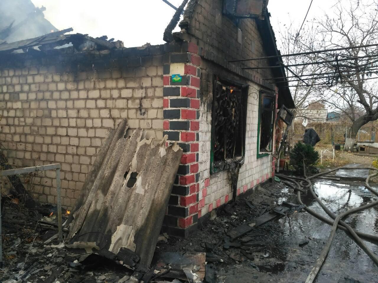 В Каменском произошел пожар в двух местах одновременно, фото-2